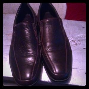 Bruno Magli Hand Crafted Leather Driving Shoes